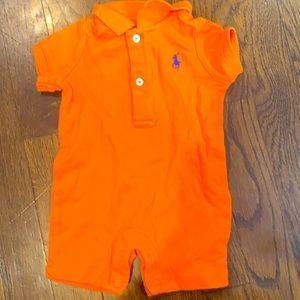 Baby boys Ralph Lauren Polo onesie 3 months